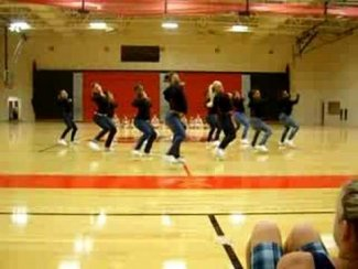 Brooke Point High School Varsity Dance Team 08-09 - YouTube